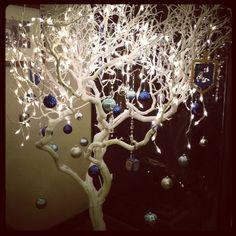 Ideas para árboles de navidad con ramas