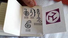 Fotografías de un Cuaderno de Reiki