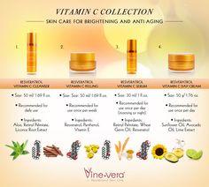 Vine Vera Vitamin C Collection