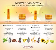 Vine Vera Vitamin C Collection