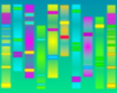DNA by ColorOfWhitespace on Etsy.  Inspired by an agarose gel.  Love it!