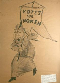 Women's Suffrage Poster  $4,500