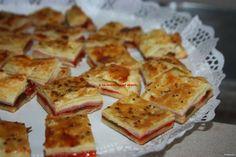 La cocina de mi abuelo: Receta: empanada hojaldrada de queso, jamón cocido...