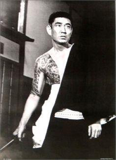 Ken Takakura, an icon of Yakuza gangster movie during 1960s in Japan.