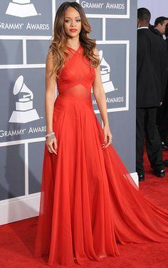 Rihanna at Grammys