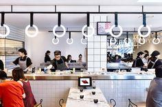 Principle Design created a vivid brand, signage and environmental graphics for Emporium based Tetsujin Bar & Restaurant.