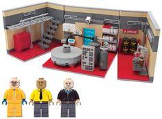 Laboratorio de Breaking Bad a lo lego