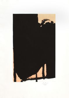 View Elegy Fragment II by Robert Motherwell on artnet. Browse more artworks Robert Motherwell from Christopher-Clark Fine Art. Art Gallery, Buy Abstract Painting, Sale Artwork, Abstract Expressionism, Boston Art, Robert Motherwell, Abstract Art, Art, Abstract