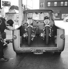 Old School Cafe Racer Bobber Custom, Custom Bikes, Custom Trucks, Bobbers, Choppers, Rat Rods, Harley Bobber, Quad, Cool Motorcycles