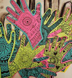 zentangles....Kari's Fun Art Lessons