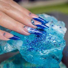 Nails by Krisztina Kalmar Great Nails, Fun Nails, Nails 2014, One Stroke Nails, Edge Nails, Flower Nails, Stiletto Nails, Nail Tech, Younique