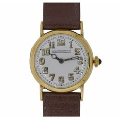 Pre-owned Vintage Patek Philippe Geneva Manual 18K Yellow Gold 26mm... (4,228,560 KRW) ❤ liked on Polyvore featuring jewelry, watches, vintage wristwatches, 18k watches, white dial watches, vintage wrist watch and vintage jewelry