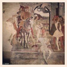 Palazzo, Roman Gods, Fresco, Ferrari, Westerns, Traditional, Illustration, Painting, Fotografia