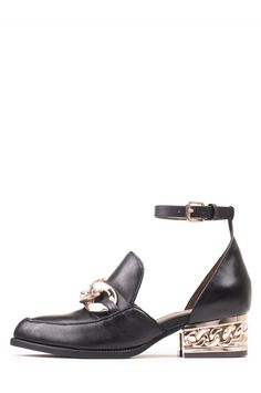 Jeffrey Campbell Shoes WALDEN-CHH New Arrivals in Black Gold