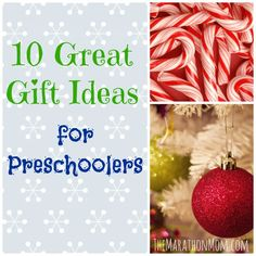 10 Great Gift Ideas for Preschoolers {and a Giveaway!}