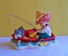 Redhead Figurine 'Lazy Day' Byj 78 TMK6 Charlot Byj Vintage Goebel Redhead #Goebel