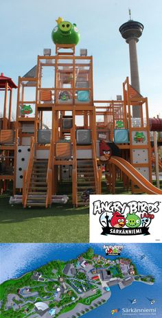Angry Birds Land adventure park opens in Finland, offers fun outside the games Angry Birds, Miss My Daddy, The Pleasure Garden, Boy Meets Girl, Bird Theme, Indoor Playground, Amusement Park, Weird Facts, Play Houses