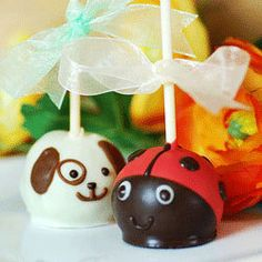 Brownie Bite Ladybugs ~ pretty sure I could make my own for a bit cheaper but they're still cute!