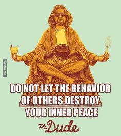The dude is wise