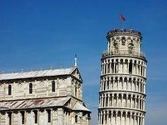 Pisa, Italia, Inclinada Torre