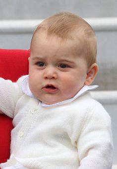 Le prince George le 7 avril 2014