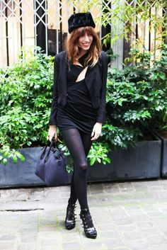 Lou Doillon. I have been obsessed with this outfit for months...