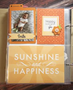 Sunshine & Happiness Layout by Ashley Cannon Newell for Papertrey Ink (June 2014)