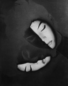 Erwin Blumenfeld Marua Motherwell Solarisé, New York 1941 A Level Photography, Nude Photography, Fine Art Photography, Portrait Photography, Fashion Photography, Vintage Photography, Back To Black, Black And White, Crazy Women