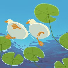 "KK辰未 on Twitter: ""swimming #illustration #duck #callduck #swimming #pool #water #painting #drawing #digitalart… "" Pretty Art, Cute Art, Animal Drawings, Cute Drawings, Posca Art, Arte Sketchbook, Cute Illustration, Aesthetic Art, Art Sketches"