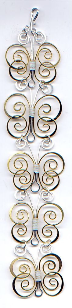 WireWorkers Guild: BUTTERFLY BANGLE