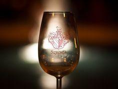 A rozén át tompábbak a fények, via Flickr. Wine Glass, Tableware, Dinnerware, Dishes