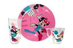 Komplet dla dzieci 3-el. Minnie LUMINARC Disney