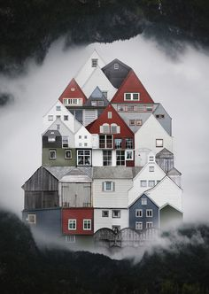El collage urbano de Anastasia Savinova 12