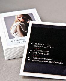 polaroid business cards