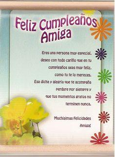 Cum of oppleaños amiga Happy Anniversary Quotes, Happy Birthday Quotes, Happy Birthday Images, Birthday Messages, Happy Birthday Wishes, Birthday Greetings, Happy Birthday In Spanish, Happy Wishes, Happy B Day