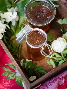 Róża - konfitury z płatków róż. - Klaudyna Hebda
