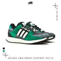 Der adidas Equipment Support 93/16 ist ab dem 13.10.2016 inStore & onLine auf www.soulfoot.de für €169,95 erhältlich!   #adidas #adidasoriginals #equipment #support #boost #sneaker #soulfoot #slft