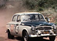 "Peugeot 403 in ""Hillman on Safari"" Vintage Racing, Vintage Cars, Peugeot 403, Rally Raid, African Countries, African Safari, East Africa, Car Car, Kenya"
