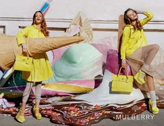 Always love a Mulberry campaign! Lindsey Wixson & Frida Gustavsson for Mulberry Spring 2012 Campaign by Tim Walker Frida Gustavsson, Lindsey Wixson, Brighton, Kate Middleton, Tim Walker Photography, Christian Louboutin, Fashion Business, David Lachapelle, Foto Art