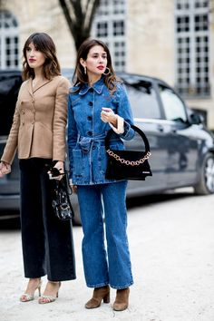 Paris Fashion Week Street Style Fall 2018 Day 1 - The Impression