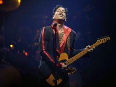 During his concert at the Sportpaleis in Antwerp, Belgium, Prince feels the music.  Dirk Waem, EPA ― PRINCE ❥ #Prince Rogers Nelson [June 7, 1958 – April 21, 2016] #Purple #Rain #Kiss #Love #Artist #Music #RIP #Singer #Folk #Rock #Soul
