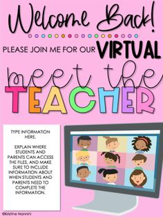 Google Classroom, School Classroom, Classroom Activities, Classroom Ideas, Online Classroom, Letter To Teacher, Letter To Parents, Meet The Teacher, Parent Letters