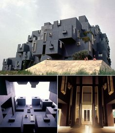 Architecture - 1968 - El Castell, Barcelona - Ricardo Bofill    Inspired by Kafka's Castle