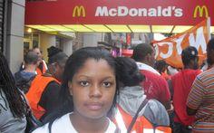 Fast-food workers strike in 60 cities, demanding $15/hour