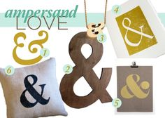 ampersand fever!