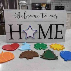 Easy Contemporary Home Decor Ideas Diy Signs, Home Signs, Wood Projects, Woodworking Projects, Woodworking Jigs, Youtube Woodworking, Faux Shiplap, Contemporary Home Decor, Vinyl Lettering