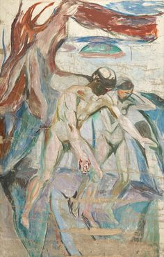 The human mountain » Munch's Ekely - The Storm: Left Middle Part 1926–27 / Oil on canvas Munch Museum