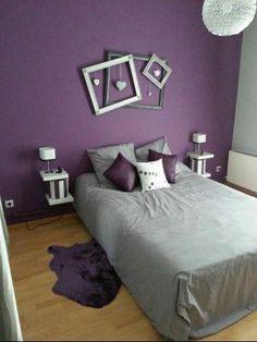 20 Bedroom Paint Ideas for Your Dream Bedroom. Paint Ideas for Bedroom Bedroom Paint, Best Paint Color for Bedroom. Romantic Purple Bedroom, Purple Bedroom Design, Purple Bedrooms, Purple Interior, Bedroom Paint Colors, Girls Bedroom, Master Bedroom, Bedroom Brown, Cozy Bedroom