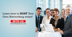 Networking events are a great way to meet new people and form meaningful relationships. Learn how to host your own networking event! http://elijahogutu.com/