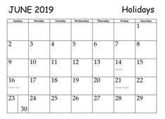 Get June 2019 Calendar with Holidays USA UK Canada Malaysia NZ SA Australia Philippines Germany Singapore India, June 2019 Holidays Calendar Printable Template with Notes Blank Word Large Space format June Calendar Printable, June 2019 Calendar, Holiday Calendar, Holidays In June, State Holidays, June Solstice, World Refugee Day, Calendar Wallpaper